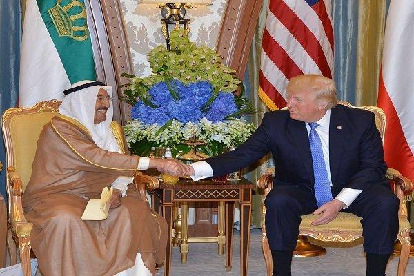 دیدار امیر کویت با ترامپ به تعویق افتاد