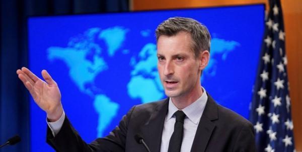 ند پرایس: به ایران مشوق پیشنهاد نمی کنیم